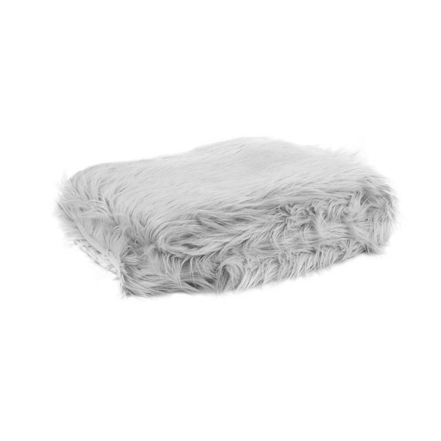 BELIANI Couvre-lit gris clair 200 x 220 cm DELICE