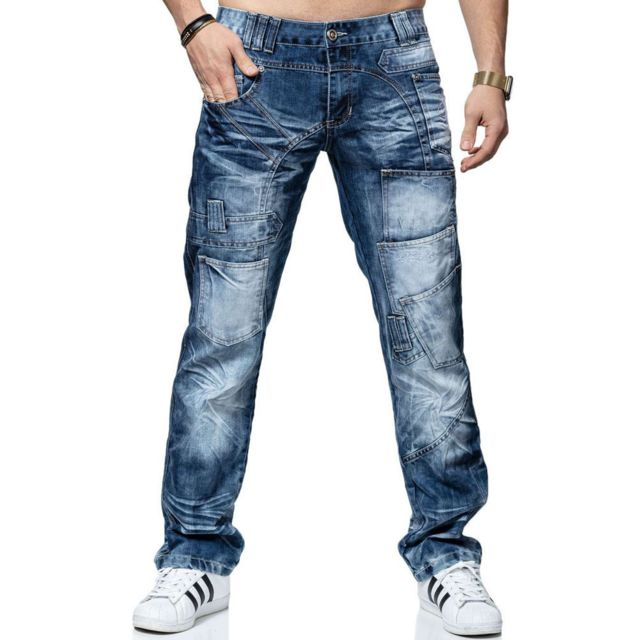 Kosmo Lupo Jean fashion Jean Kl120 bleu