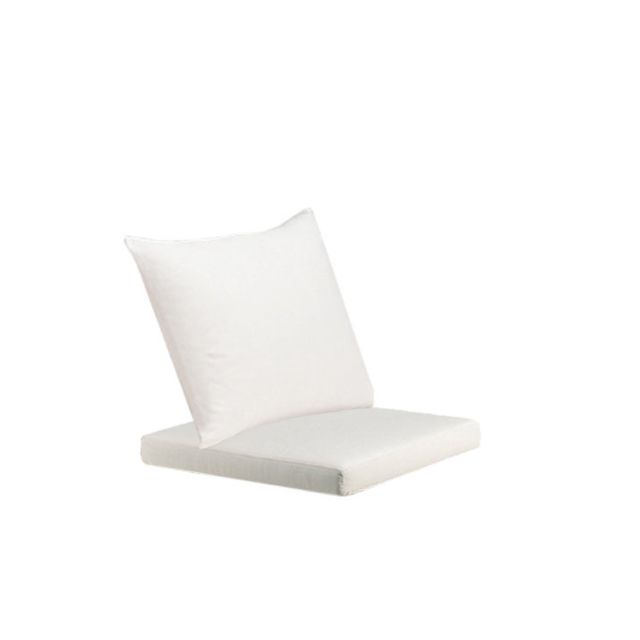 Dedon Coussin d'assise+ Coussin de dossier Barcelona fauteuil - Cool taupe