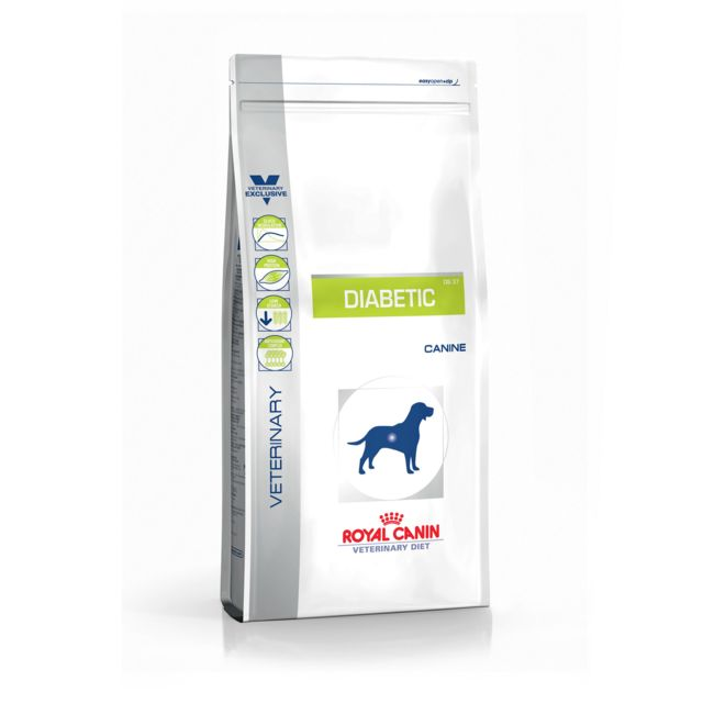 royal canin veterinary diet diabetic ds37 12 pas cher achat vente croquettes pour chien. Black Bedroom Furniture Sets. Home Design Ideas