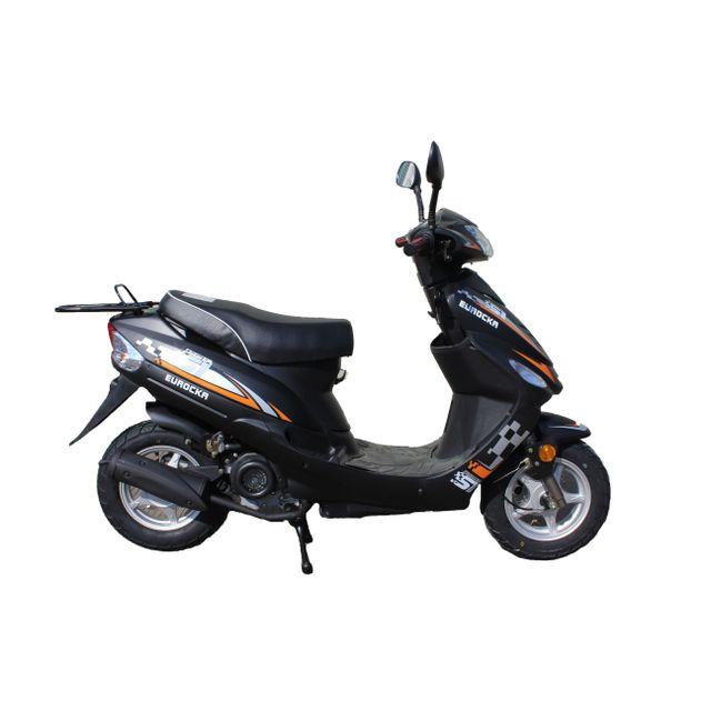 Eurocka - Scooter Cka City 50cc 4T noir mat Eurocka