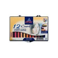 Conte - Boite 12 Portrait carre couleur