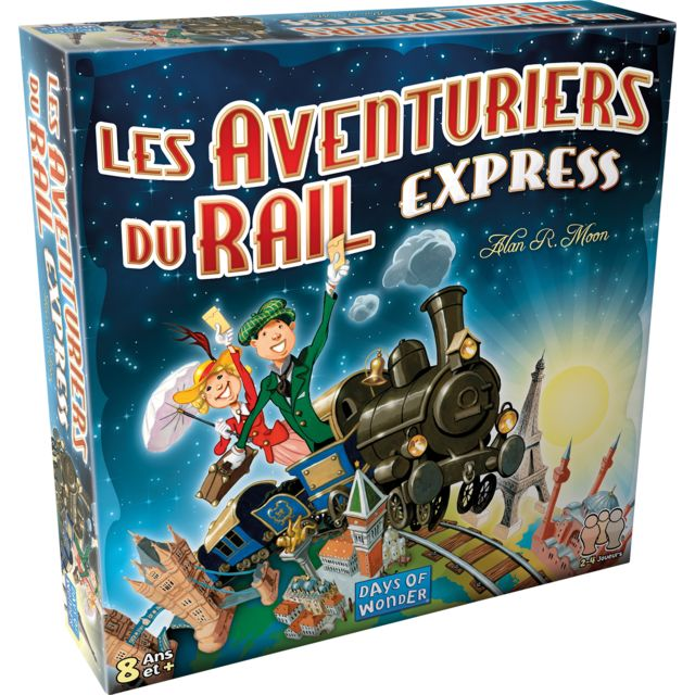 ASMODEE Les Aventuriers du Rail EXPRESS - AVE22