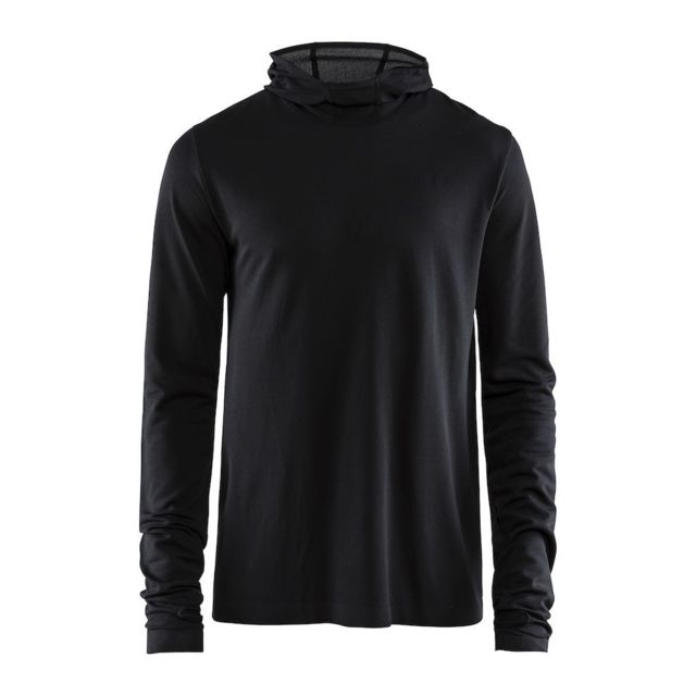 Craft Core Fuseknit Sweat Capuche Homme Noir Sweat de