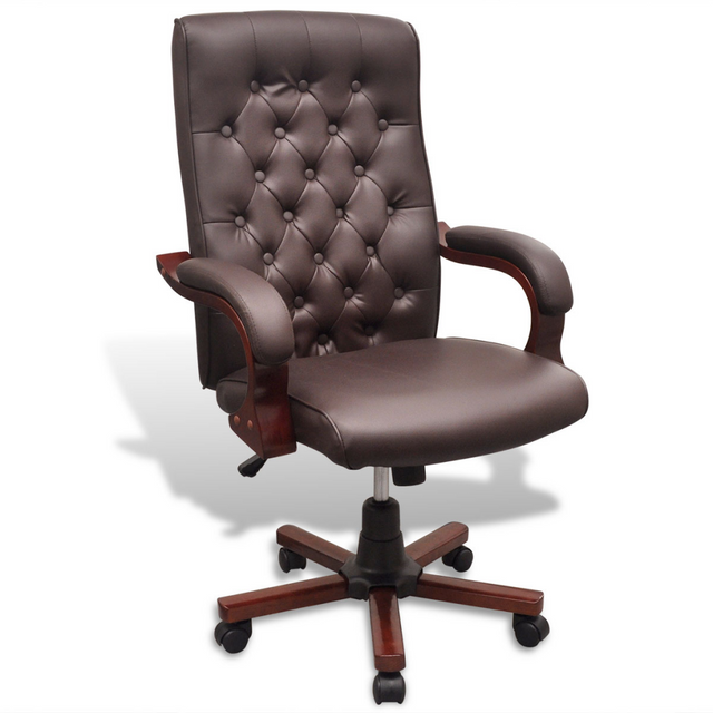 fauteuil bureau cuir marron Achat fauteuil bureau cuir marron