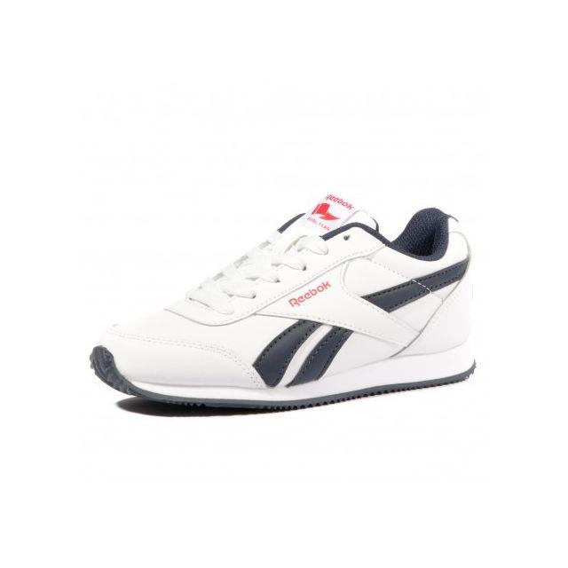 2299bd85af72f Reebok - Royal Classic Jogger 2 Garçon Chaussures Blanc Multicouleur - pas  cher Achat   Vente Baskets homme - RueDuCommerce