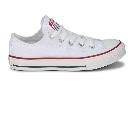 a75fa59cf4ee Converse - Chaussures All Star Basses Optical White W e17 - pas cher Achat    Vente Baskets femme - RueDuCommerce