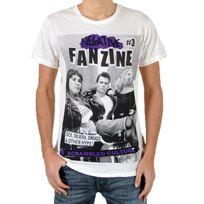 Eleven Paris - T-shirt Fanzine 3 Blanc Cassé