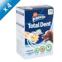 Brekkies - Excel Total Dent - Pour chien moyen 10 a 25 kg - 720 g x4