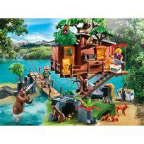 Cabane des aventuriers dans les arbres - 5557