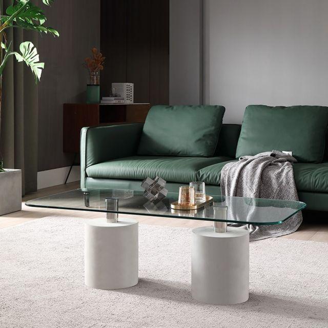 Meubler Design Table basse béton Bati