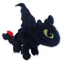 Dragons - Peluche : Dragon Noir Toothless 43Cm - Peluche Licence