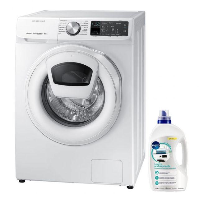 Samsung Lave-Linge frontal 8KG A+++ 1400trs/min AddWash EcoBubble Machine à laver hublot
