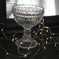 Xmas Living Glass - Dew Drops - Guirlande Argenté 40 Led L3,9m - Guirlande et objet lumineux designé par
