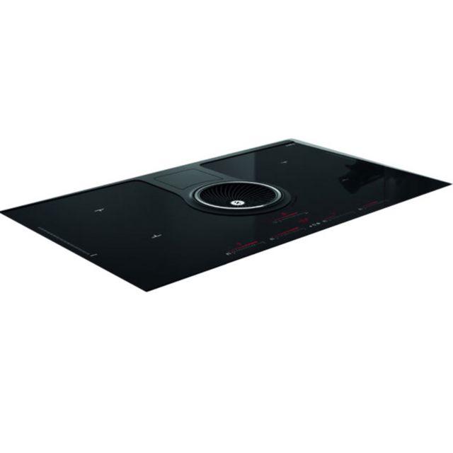 ELICA table de cuisson aspirante à induction 83cm 4 feux 7400w noir - prf0120978