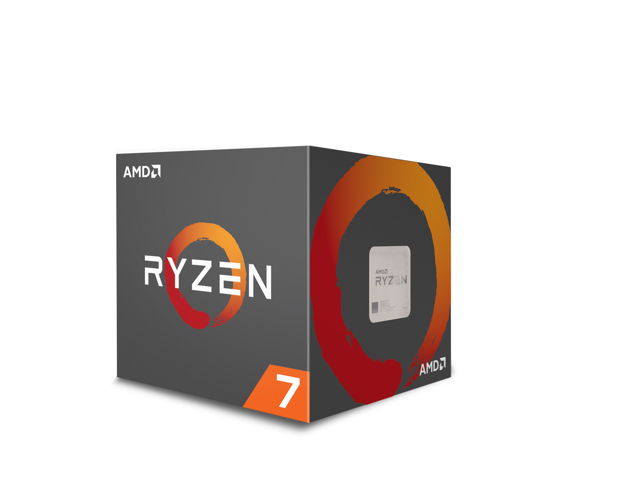 Processeur Ryzen 7 2700X, avec Wraith Prism cooler