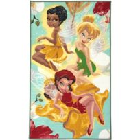 FAIRIES - Tapis LES FEES Tapis Moderne par Multicolore 100 x 170 cm