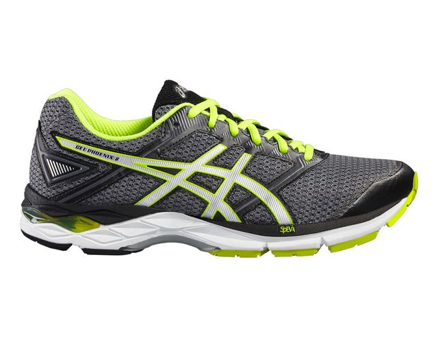 Asics Gel Phoenix 8 Grise Et Jaune Chaussures de running
