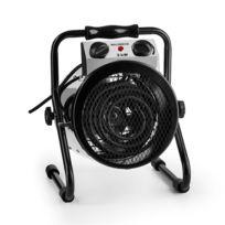 WALDBECK - Strato Radiateur électrique soufflant chauffage serre jardin IPX4 2000W