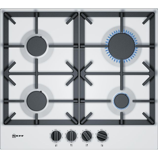 neff table acier maill gaz 60cm blanc t26ds49w0 achat plaque de cuisson gaz. Black Bedroom Furniture Sets. Home Design Ideas