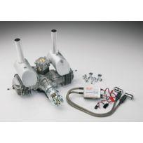 DL Engines - Moteur essence 60cc DLE Bi-cylindre