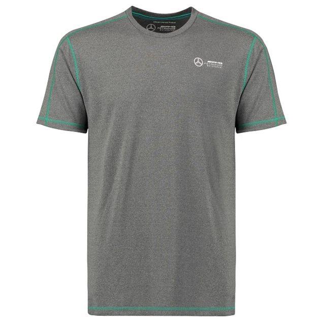 >T-shirt MERCEDES AMG Classique gris pour homme