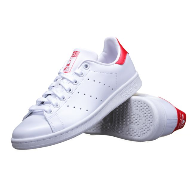 la meilleure attitude f4595 ae50b netherlands stan smith adidas rouge and blanc c83b8 cf000
