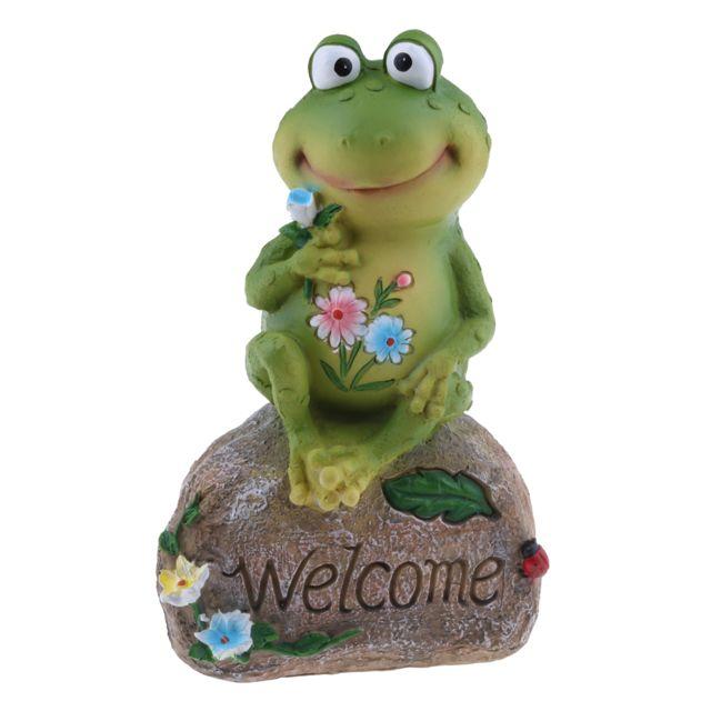Résine fée jardin ornement maison de poupée miniature décoration grenouille