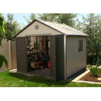 LIFETIME - Abri de jardin PVC Century 6433 - 11,22 m²