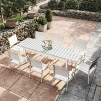Table de jardin aluminium et composite - catalogue 2019 ...