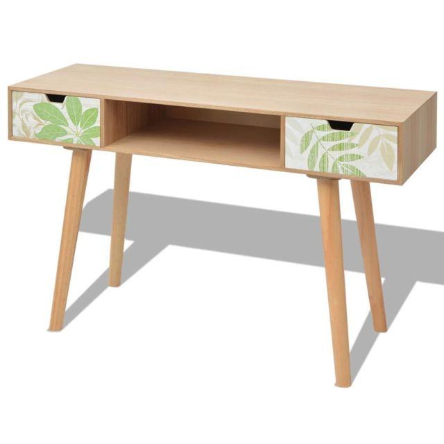 Stylé Consoles collection Montevideo Table console Mdf 120 x 40 x 78 cm Marron
