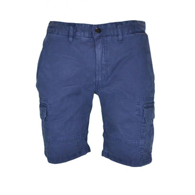 Tommy hilfiger - Bermuda cargo bleu marine pour homme W29 L34 - pas cher  Achat   Vente Short homme - RueDuCommerce 010f5f19408