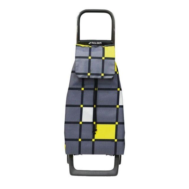 ROLSER - poussette de marché 2 roues 48l gris - jet019marengo