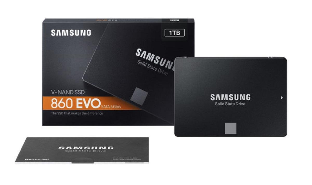 Disque SSD 860 EVO SATA III 2,5 pouces 1 To Samsung