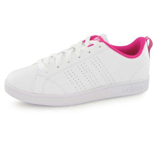 pas cher Adidas mode Advantage mixte blancbaskets Clean neo Pv8On0Nwym