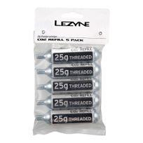 Lezyne - Cartouche Co2 25g argent 5 unités