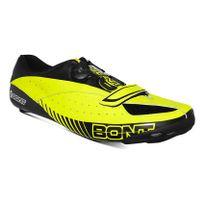 Bont - Chaussures Blitz jaune fluo noir