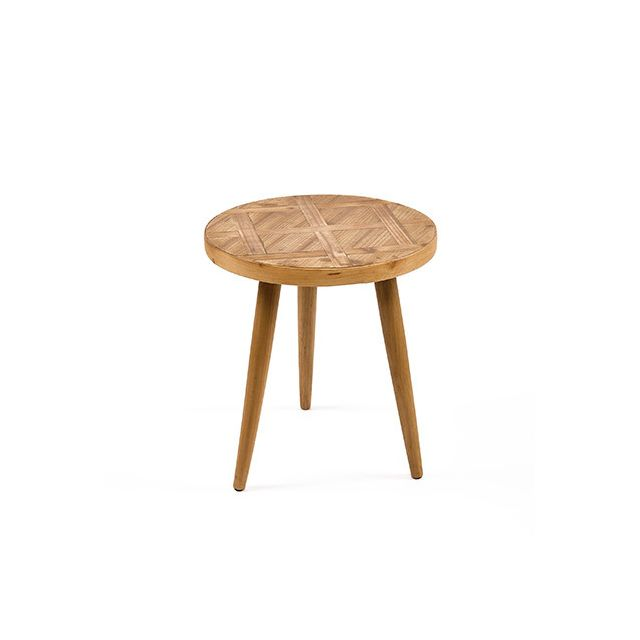 Table basse en bois naturel 50x50x55cm