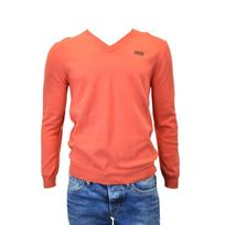 Pepe Jeans - Pull homme new norac orange