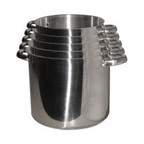 BAUMALU - série de 5 traiteurs inox 24/26/28/30/32cm - 342685