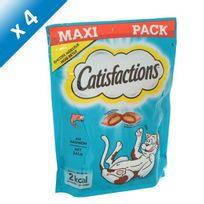 Catisfactions - Friandises au saumon - Pour chat - x4