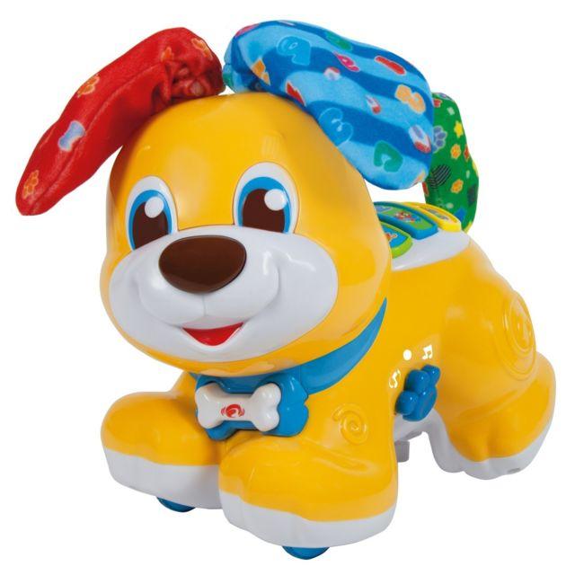 clementoni - bibou  le chien interactif qui fait  u0026quot coucou   vente jouet