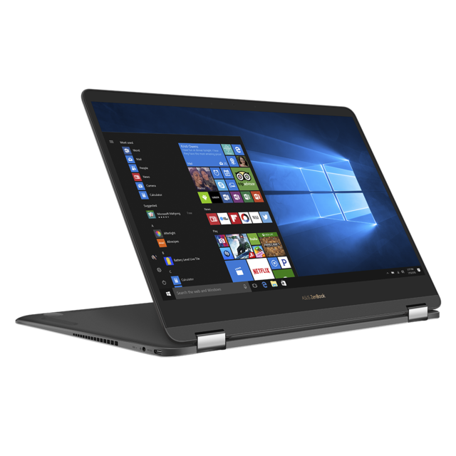 ASUS - ZenBook Flip 78256-N - Gris