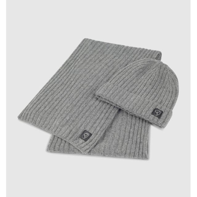 Redskins - Écharpes   Gants - Ensemble bonnet et écharpe Grizz Gris - pas  cher Achat   Vente Echarpes, foulards - RueDuCommerce 6ad07aca8ff