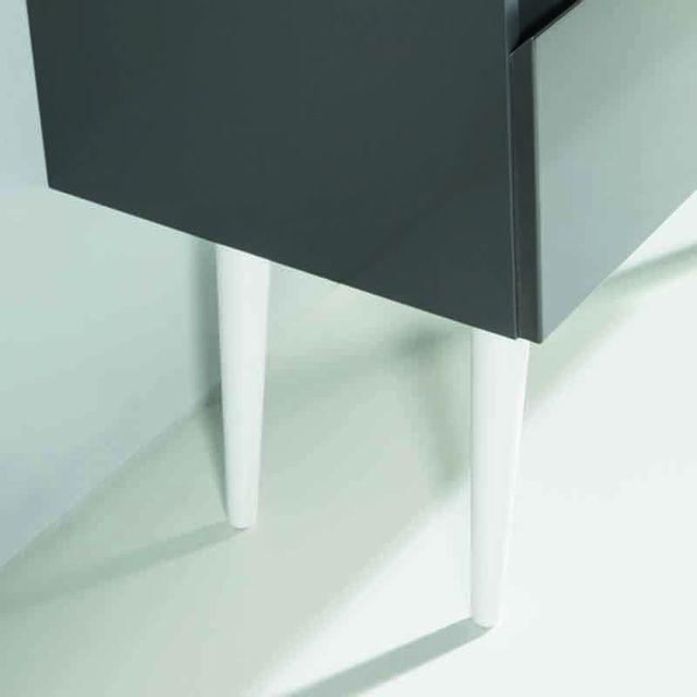 Meuble salle bain for Pied pour meuble de salle de bain