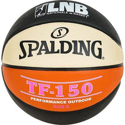 spalding lnb tf 150 6 orange ballons basketball pas cher achat vente ballons basket. Black Bedroom Furniture Sets. Home Design Ideas