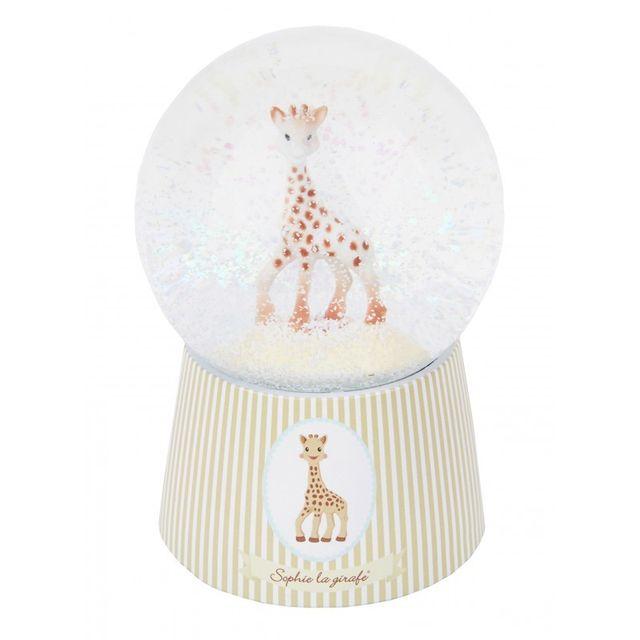 Trousselier - Boule à neige musicale Sophie la girafe
