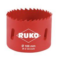 Ruko - 106108 - Scie-cloche Bi-mÉTAL - 108 Mm