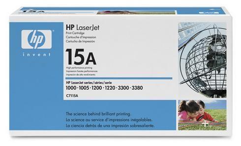 hp toner imprimante laser noir 15a c7115a pas cher achat vente toners couleurs. Black Bedroom Furniture Sets. Home Design Ideas