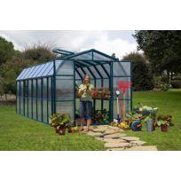 Rion - Serre de jardin polycarbonate Cezanne 258 x 383 x 251cm